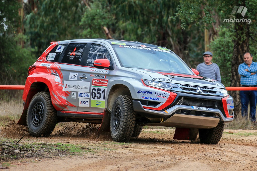 Hybrid vigour: Mitsubishi Outlander PHEV rally car – Rallystar