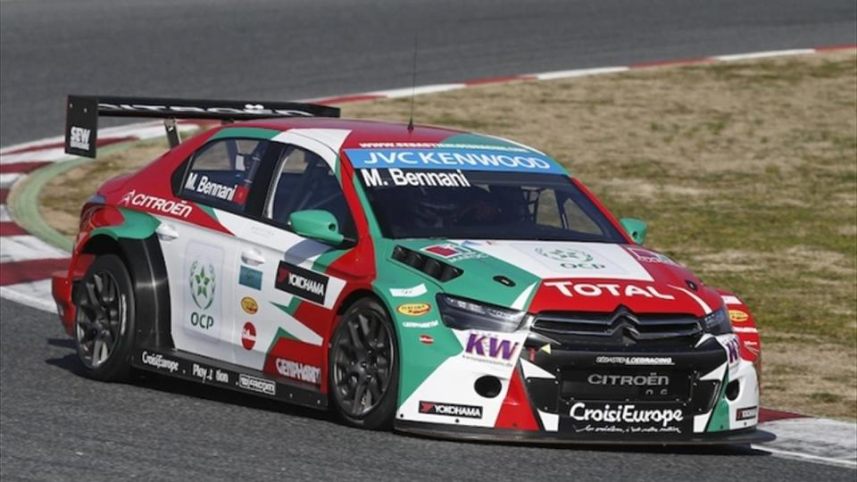 bennani re signs with sebastien loeb racing rallystar. Black Bedroom Furniture Sets. Home Design Ideas