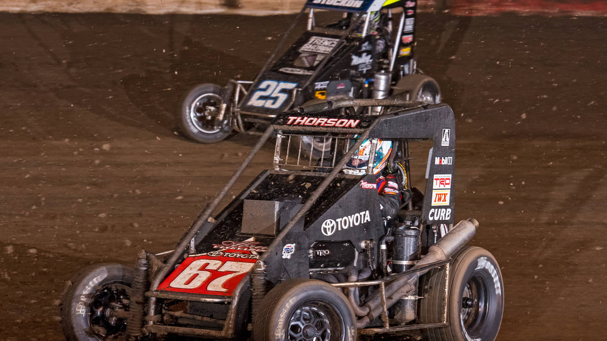 Turkey night midget race
