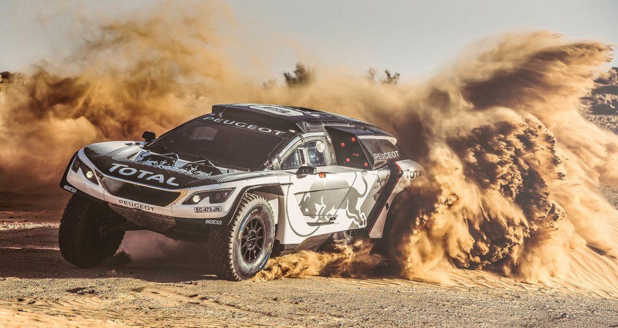 sandblaster new peugeot 3008 dkr gears up for 2017 dakar rally rallystar. Black Bedroom Furniture Sets. Home Design Ideas