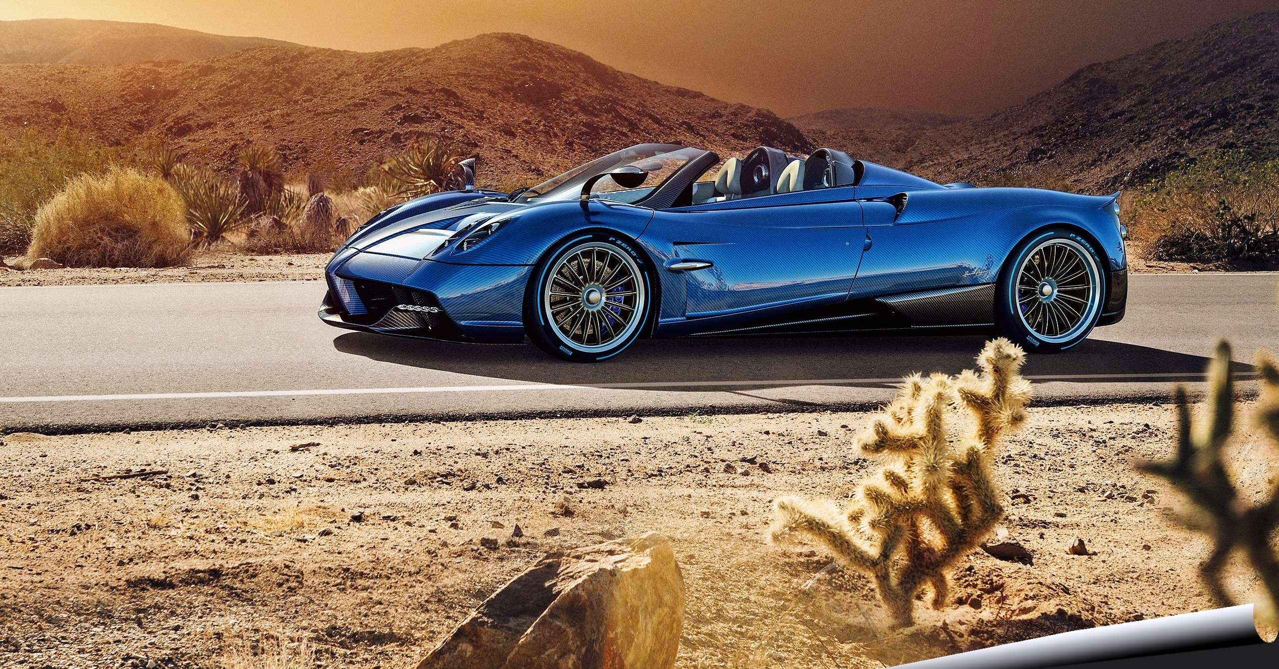 Lightweight Pagani Huayra Roadster arrives to warp your ...